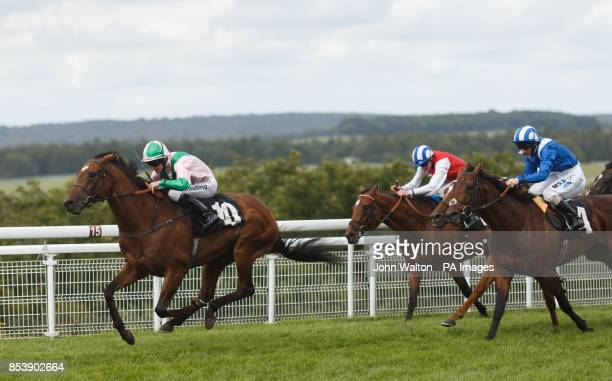 The Corsican ridden by Jim Crowley on the way to winning The Harwoods Group Handicap at Goodwood Racecourse Chichester