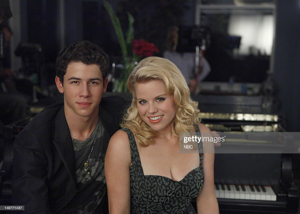 SMASH 'The Cost of Art' Episode 104 Pictured Nick Jonas as Lyle West Megan Hilty as Ivy Lynn