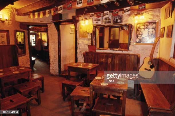 The cosy interior of Corny's pub Tipperary's oldest tavern County Tipperary Ireland circa 1990