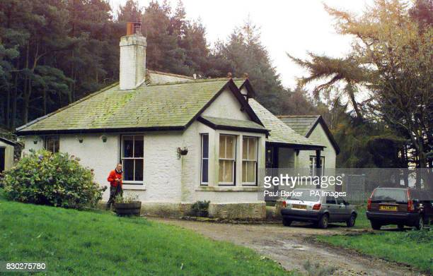 The cottage Stang Yule near Garstang where a sixteen year old accidentally shot himself in the head with a 22 rifle Tom Stafford a keen sportsman and...