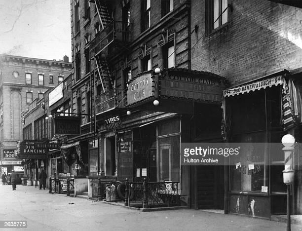 The Cotton Club in Harlem Manhattan New York