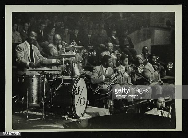 The Count Basie Orchestra in concert Sonny Payne on the drums Artist Denis Williams