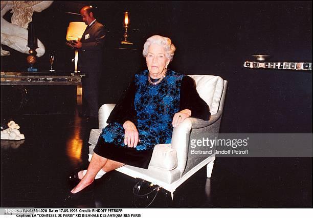 The Countess of Paris Visiting The Xix Biennale Des Antiquaires In Paris