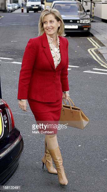 The Countess Of Wessex Attends A Charity Luncheon At Mosimann'S Restaurant In London