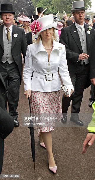 The Countess Of Wessex Attends The Second Day Of The 2005 Royal Ascot Race Meeting At The York Racecourse