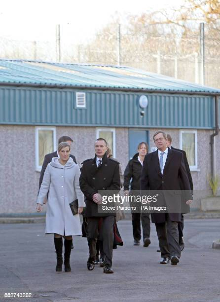 The Countess of Wessex during a visit to the HMP Downview Prison and Young Offenders Institution in Sutton