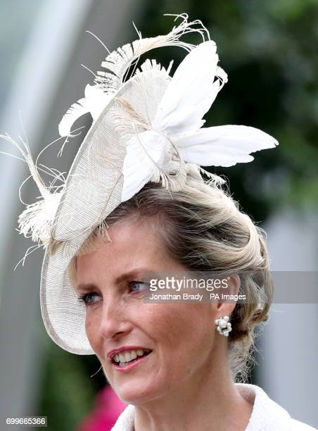 The Countess of Wessex during day three of Royal Ascot at Ascot Racecourse
