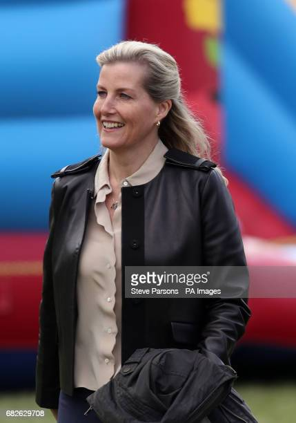 The Countess of Wessex during the Royal Windsor Horse Show which is held in the grounds of Windsor Castle in Berkshire