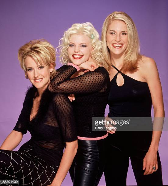 The country group Dixie Chicks pose for a photo session on September 1 2002 in Los Angeles California