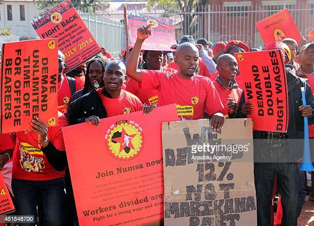 The country's largest union the National Union of Metalworkers of South Africa have gone on strike after talks on Monday failed with government to...