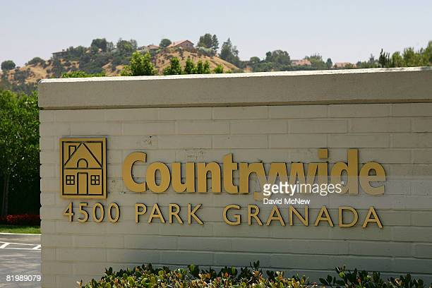 The Countrywide Financial headquarters is seen on July 18 2008 in Calabasas California State officials have expanded allegations made in a suit filed...