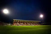 The County Ground home stadium of Swindon Town FC