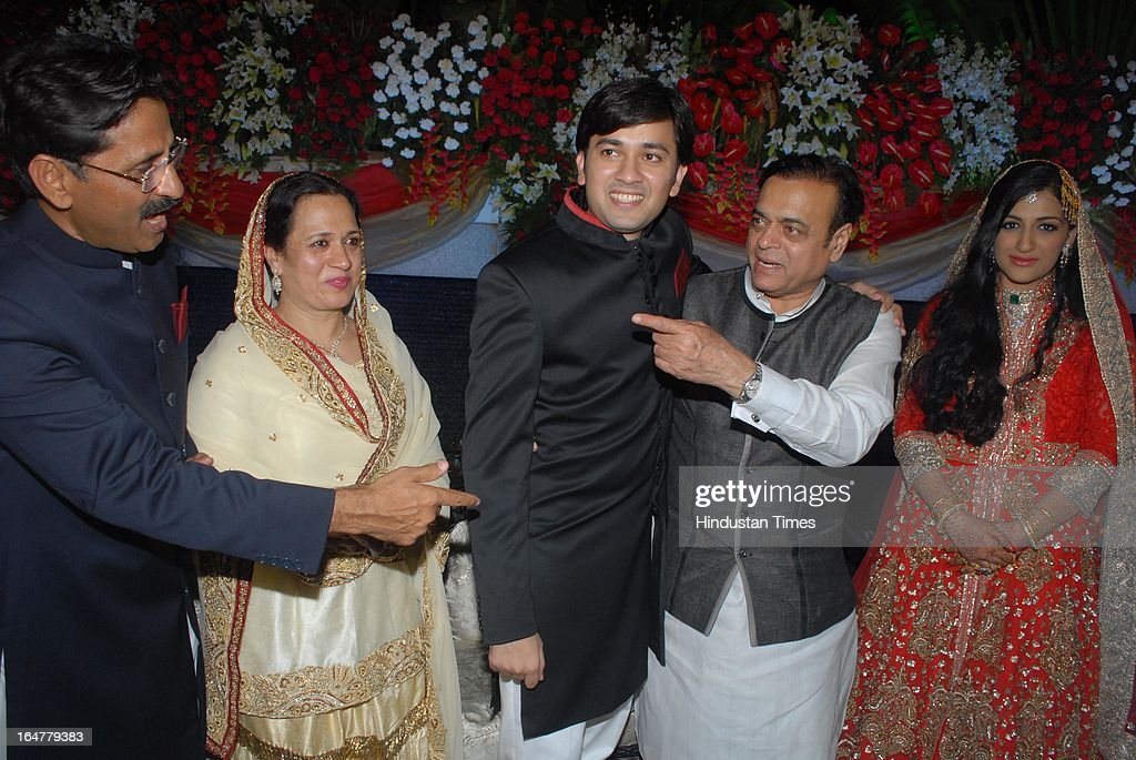 Abu azmi son wedding