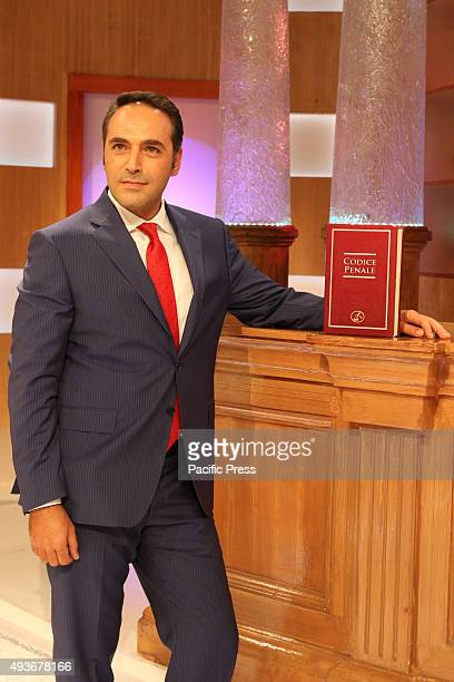 The court show weblog Rai1 led by Monica Leofreddi with Lorenzo Radogna during transmission 'Right or Wrong' Rai 1 is the flagship television channel...