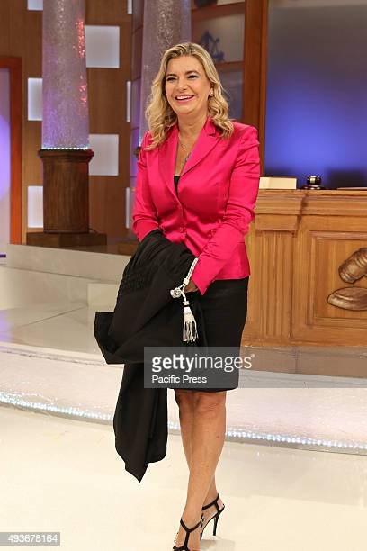 The court show weblog Rai1 led by Monica Leofreddi with Manuela Maccaroni during transmission 'Right or Wrong' Rai 1 is the flagship television...