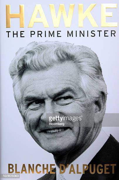 The cover jacket of the book 'Hawke The Prime Minister' by Blanche d'Alpuget is displayed in Sydney Australia on Monday July 12 2010 Australian Prime...