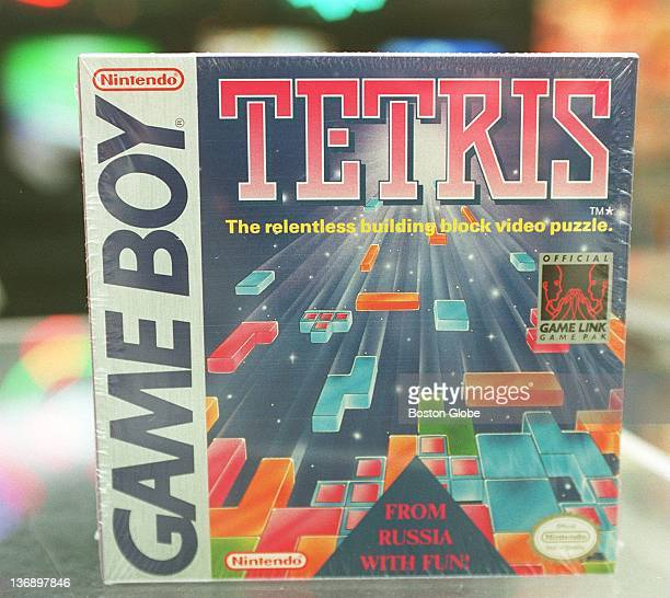 The cover of Nintendo Game Boy game 'Tetris'