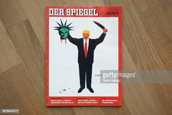 Controversial der spiegel cover depicts donald trump for De4r spiegel