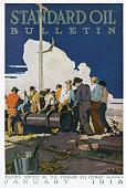UNS: 10th January 1870 - Standard Oil Established By John D. Rockefeller