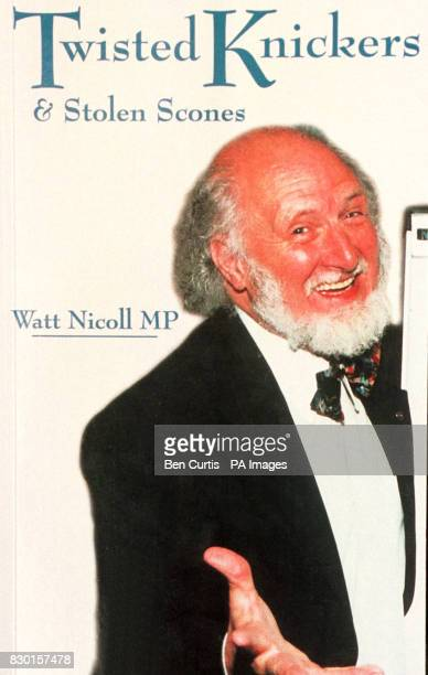 The cover of Watt Nicoll's book 'Twisted Knickers' Mr Nicoll a 63yearold Scottish folk singer has been revealed as having addressed the England...