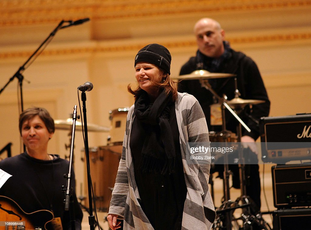 The Cowboy Junkies rehearses for The Music of Neil Young at Carnegie Hall on February 10, 2011 in New York City.