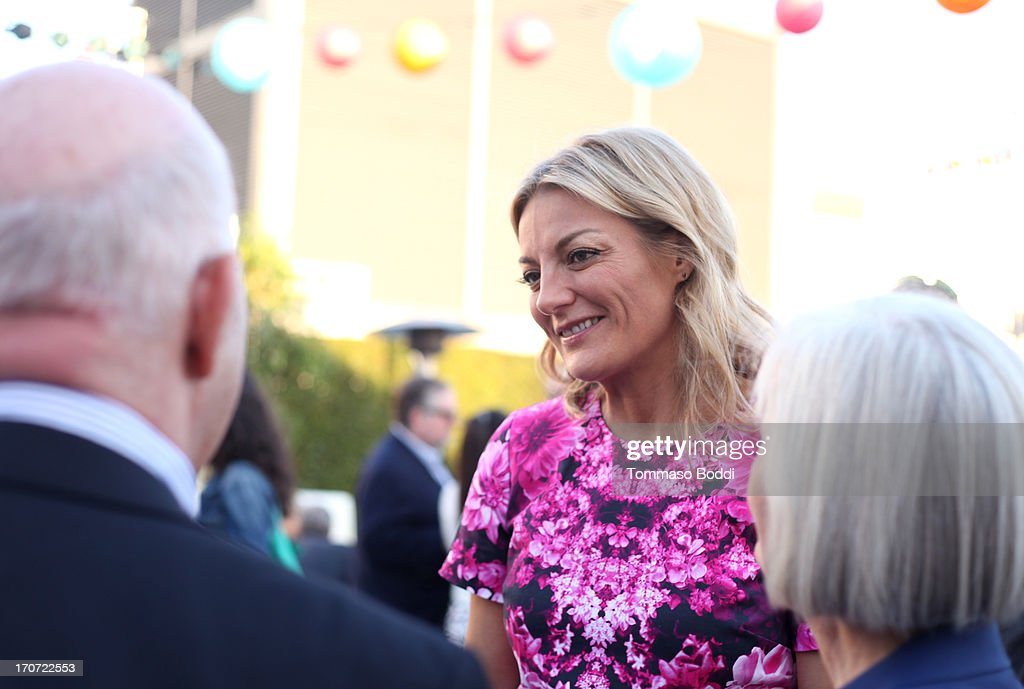 'The Crash Reel' Director/Producer <a gi-track='captionPersonalityLinkClicked' href=/galleries/search?phrase=Lucy+Walker&family=editorial&specificpeople=3079373 ng-click='$event.stopPropagation()'>Lucy Walker</a> (C) and guests attend the HBO Docs Reception during the 2013 Los Angeles Film Festival at L.A. Live Event Deck on June 16, 2013 in Los Angeles, California.