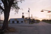 The 'Crawford Feed and Grain' store sits at main intersection April 11 2001 in the middle of Crawford TX The US President George W Bush family ranch...
