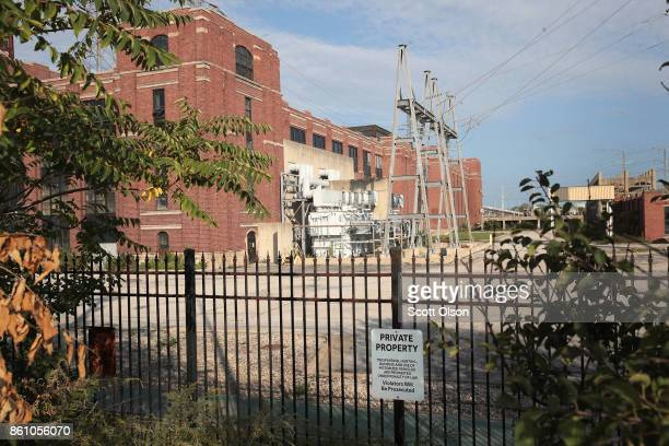 The Crawford power plant taken offline in 2012 remains idle on October 13 2017 in Chicago Illinois The plant built in 1924 and its sister Fisk power...