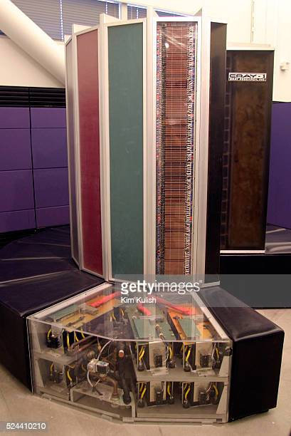 The Cray 1A vector processor supercomputer was developed in 1976 by Seymour Cray Selling for about $6 million when new the machine featured handwired...