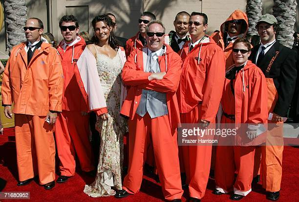 The crew of The Deadliest Catch arrives at the 2006 Creative Arts Awards held at the Shrine Auditorium on August 19 2006 in Los Angeles California