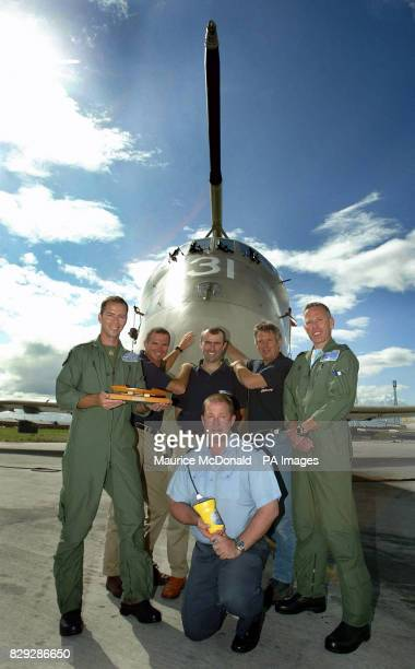 The crew of the Pink Lady rowing boat will visit RAF Kinloss in Scotland to thank the crew of the Nimrod search aircraft and personnel from the...