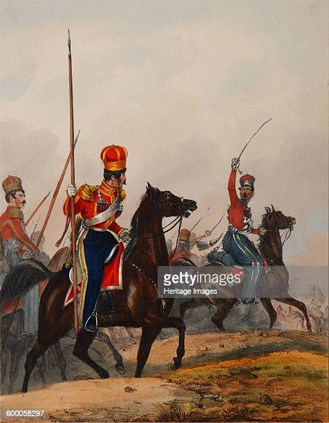 The Crimean Tatar Life Guard Squadron 1840s Found in the collection of Podstanitsky collection Artist Eckert Heinrich Ambros