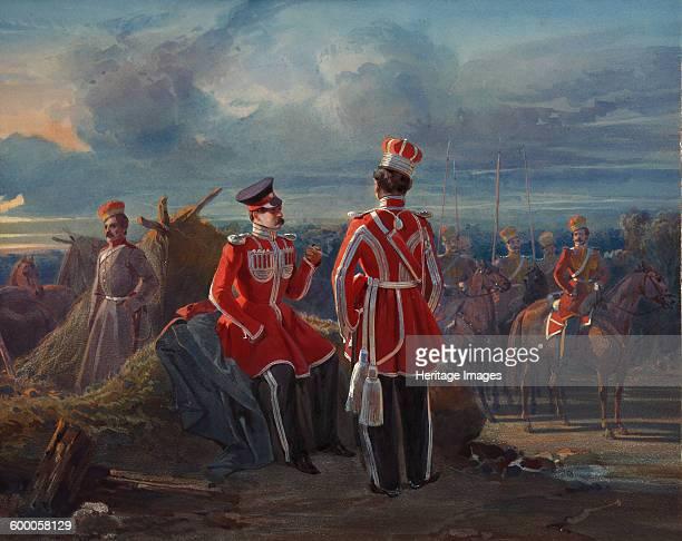 The Crimean Tatar Life Guard Squadron c 1850 Private Collection Artist Ladurner Adolphe