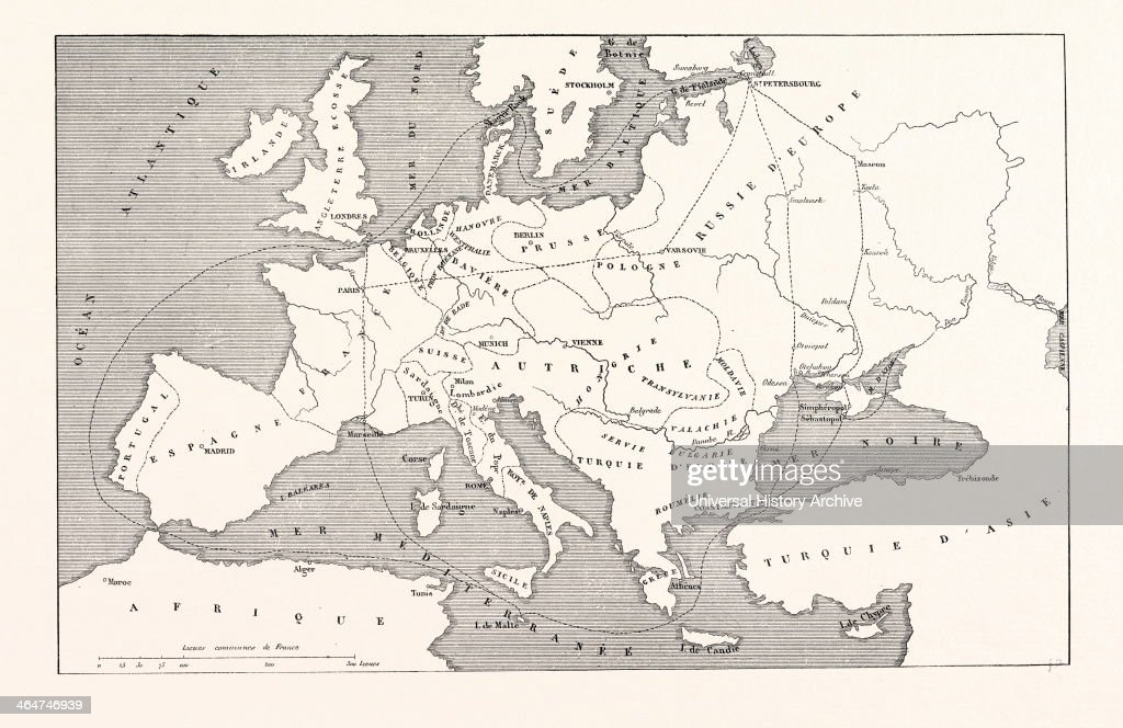 The Crimean War Pictures Getty Images - Crimea black sea map