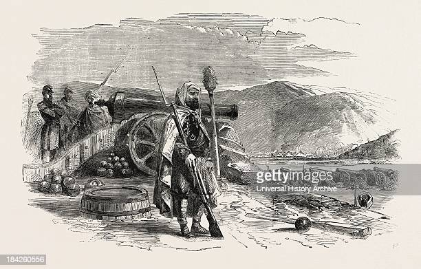 Spahi French Battery On The Heights Of Balaclava 1854