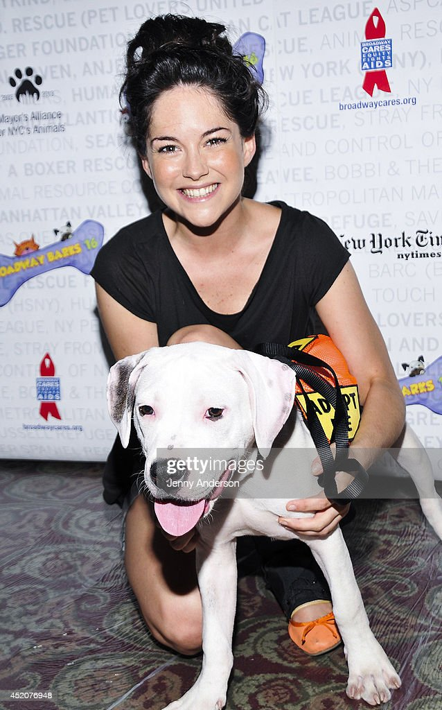 'The Cripple of Inishmaan' star Sarah Greene attends Broadway Barks 16 at Shubert Alley on July 12, 2014 in New York City.