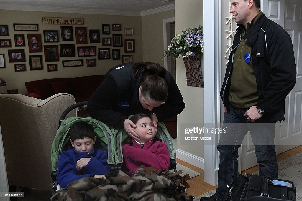 The Cronk family deals with Calle's rare brain tumor. The Make-A-Wish Foundation sent a limousine to the Cronk house to take them, including brother Connor, to the airport to go to Disney. The recent storm caused a loss of power to the house---on top of everything they had to sleep by the fireplace for two nights.