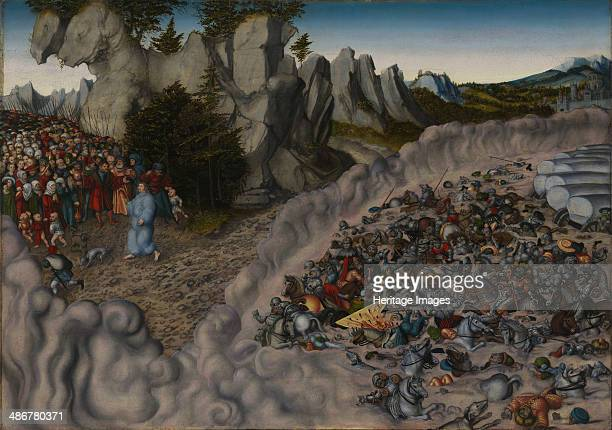 The Crossing of the Red Sea 1530 Artist Cranach Lucas the Elder