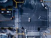 The crossing way  in Tokyo Japan