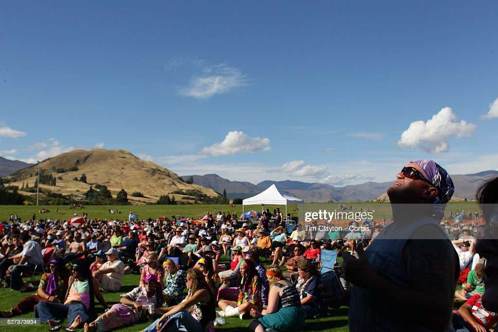 The crowd at the Creedence Clearwater Revisited concert at the Queenstown Events Centre Queenstown Otago New Zealand 5th February 2012 Photo Tim...