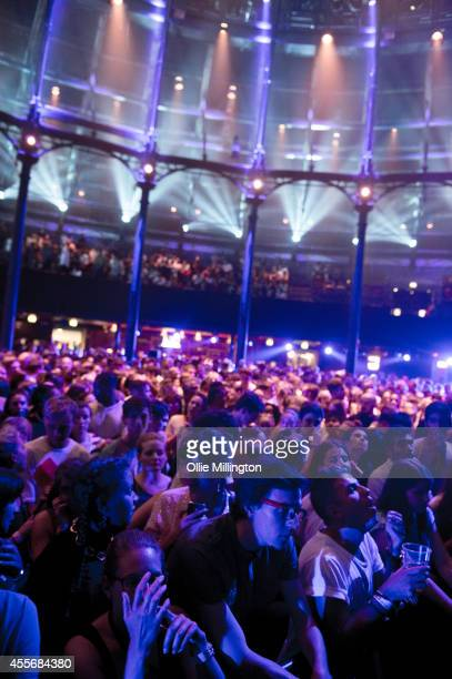 The crowd during the 18th night of the iTunes Festival 2014 at The Roundhouse on September 18 2014 in London United Kingdom