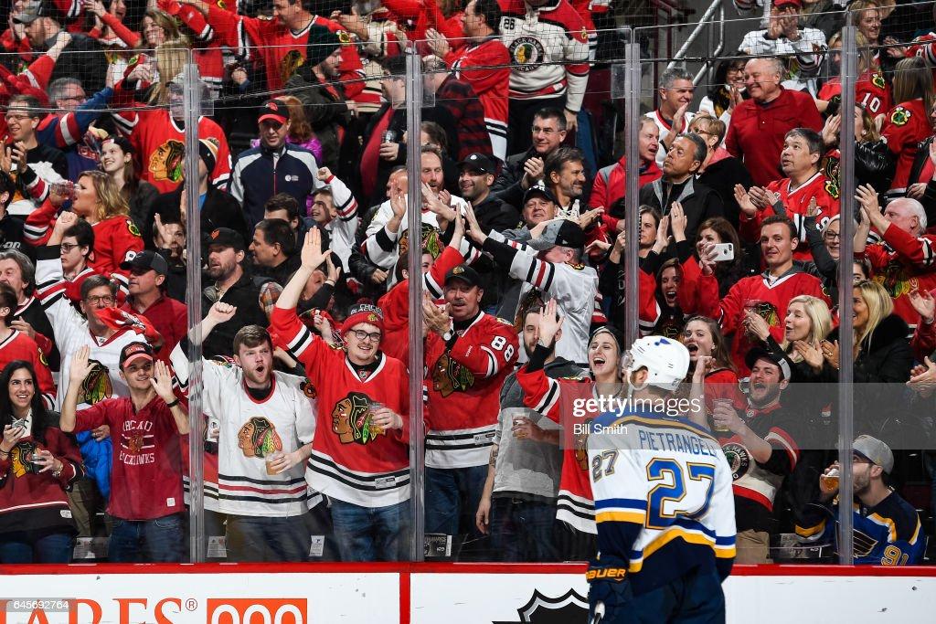 St Louis Blues v Chicago Blackhawks