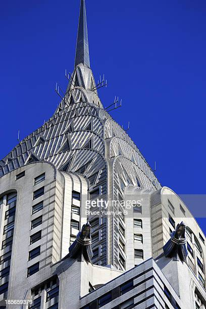 The crown of Chrysler Building