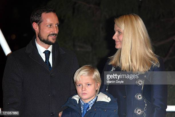 The Crown Prince Haakon Princess MetteMarit Tjessem Hoiby and family