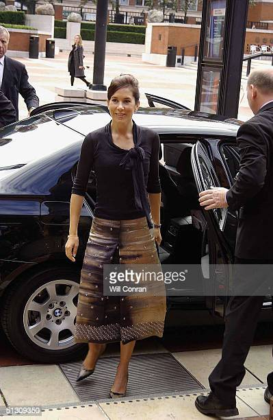 The Crown Princess Mary of Denmark attends the Hans Christian Andersen 2005 worldwide celebration of the work and life of the famous Danish...