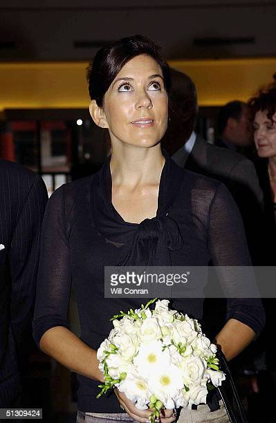 The Crown Princess of Denmark attends the Hans Christian Andersen 2005 worldwide celebration of the work and life of the famous Danish storyteller...