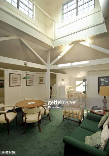 The Crow's Nest at the Augusta National Golf Club on display Thursday March 13 in Augusta Ga The Crow's Nest provides housing for amateurs during the...