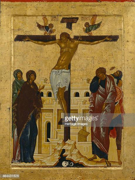 The Crucifixion 1497 Found in the collection of the State Openair Museum KirilloBelozersky Monastery