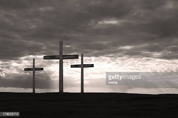 The Crucifxtion in Black and White