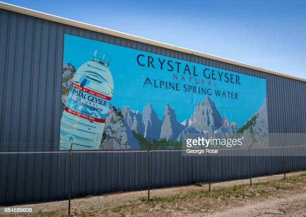 The Crystal Geyser water bottling plant along Highway 395 is viewed on April 4 in Olancha California Owens Valley is an arid valley in eastern...
